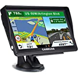 CARRVAS GPS Navigation for Car and Truck 7 Inch 2020 Version Americas Map & Voice Reported Highway Speed Camera & Poi Lane As