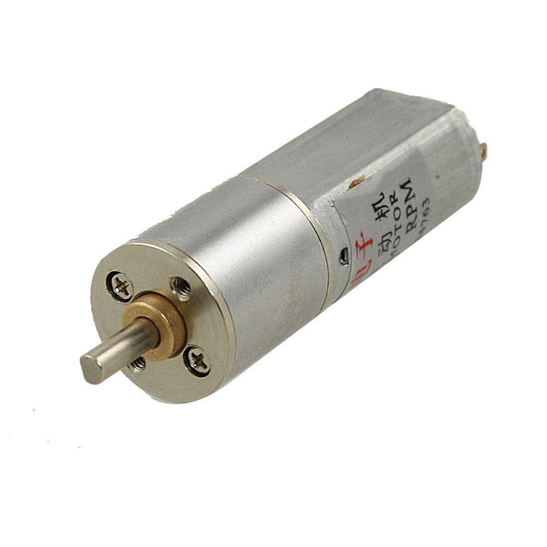 8RPM 6V 0.45A High Torque Mini Electric DC Geared Motor