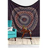 TWIN HIPPIE INDIAN TAPESTRY ELEPHANT MANDALA THROW WALL HANGING GYPSY BEDSPREAD Tapestries,bed sheets ,bed spread,hippy bed sheets,wall hangings,ethnic decor,home decor bed sheets,throw,picknic blankets,dorm tapestries By Montreal Tappesier