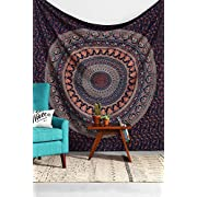 Amazon Lightning Deal 90% claimed: TWIN HIPPIE INDIAN TAPESTRY ELEPHANT MANDALA THROW WALL HANGING GYPSY BEDSPREAD Tapestries,bed sheets ,bed spread,hippy bed sheets,wall hangings,ethnic decor,home decor bed sheets,throw,picknic blankets,dorm tapestri...