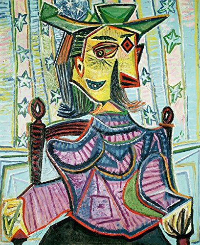 abstract portret picasso