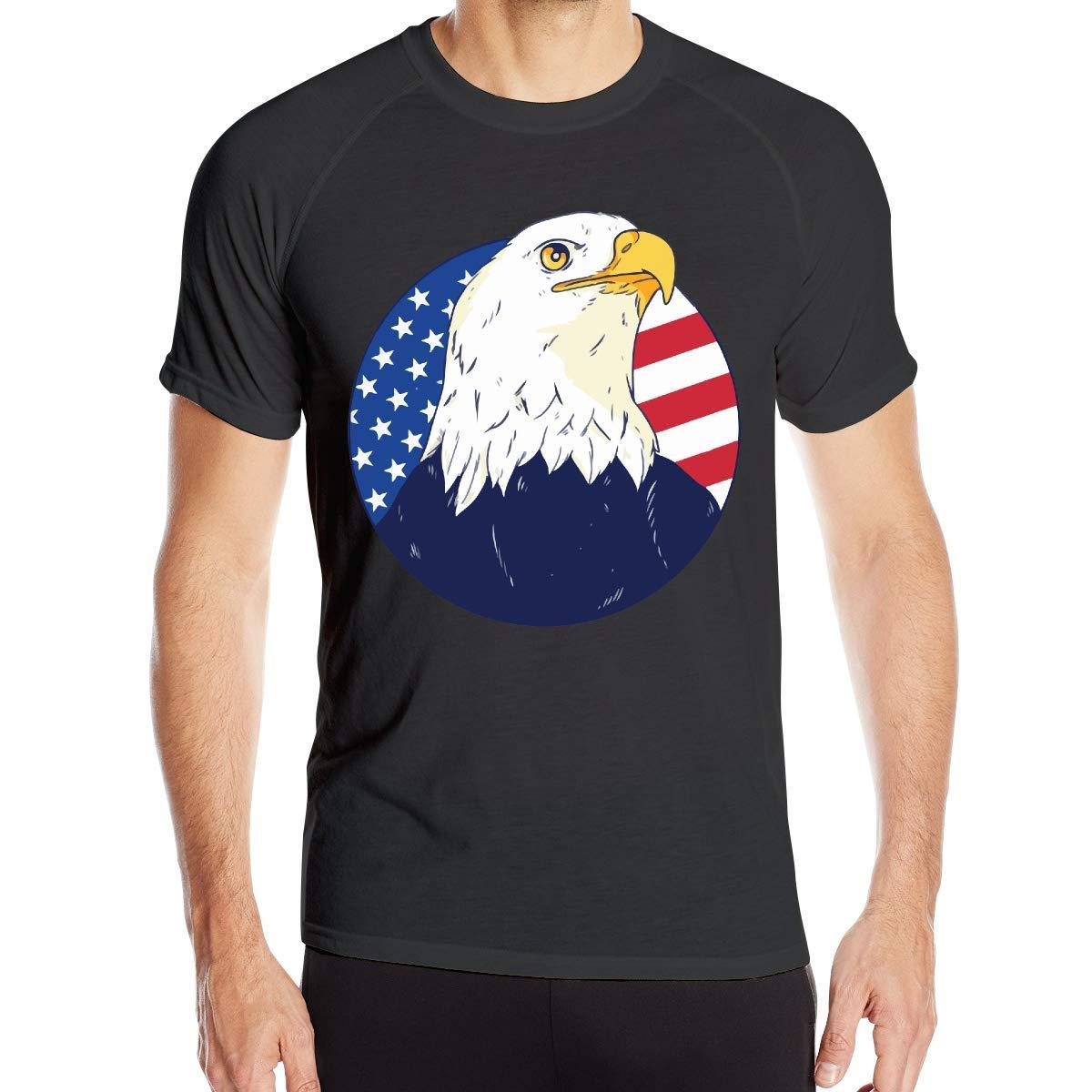 Camiseta de Manga Corta de Secado rápido para Hombre American Bald ...
