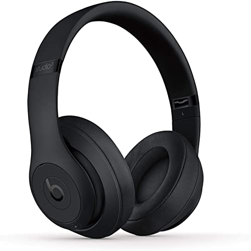 Beats Studio3 Wireless Noise Cancelling On-Ear Headphones – Apple W1 Headphone Chip, Class 1 Bluetooth, Active Noise Cancelling, 22 Hours Of Listening Time – Matte Black