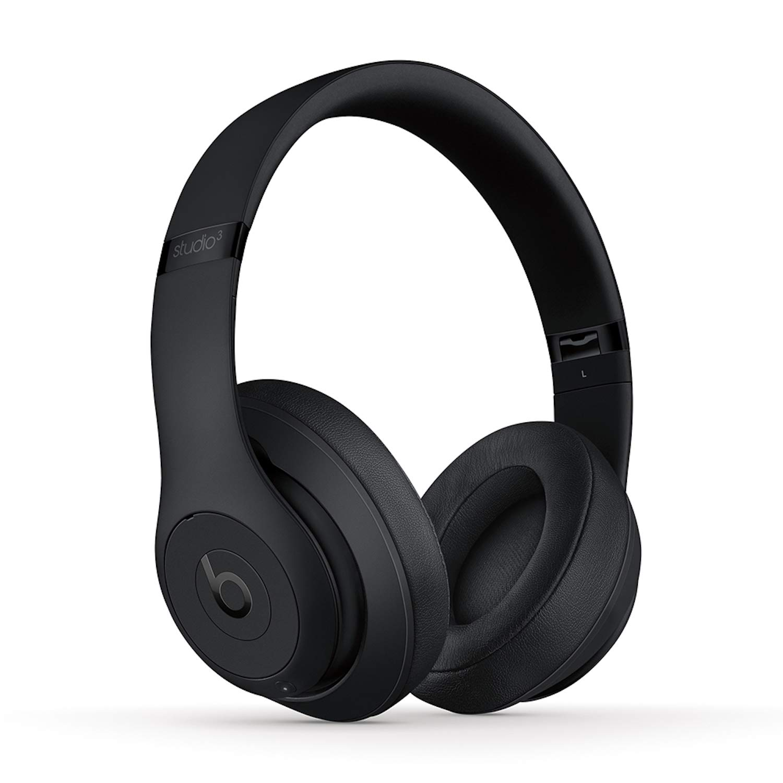 Beats Studio3 Wireless Noise Cancelling Over-Ear Headphones – Matte Black