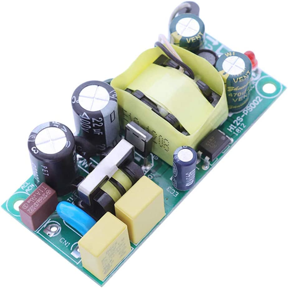 KONGZIR 12V 800mA 12W Switching Power Supply Mode Switching Power Supply Board Ultra-Wide Input Voltage