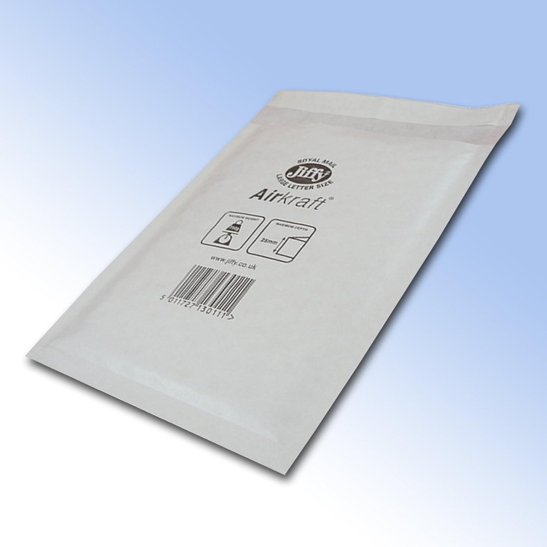 10 JL0 Jiffy Bags Padded Envelopes CD 140 x 195mm C/0