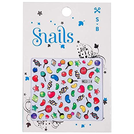 Snails 30002102 3D-Nail Tattoo Candy Miracle