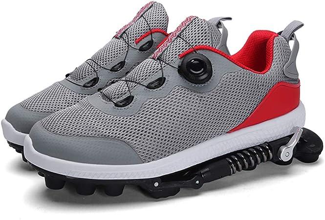 MLyzhe - Zapatillas de Running mecánicas para Hombre y Mujer, Transpirables, Resistentes al Desgaste: Amazon.es: Hogar