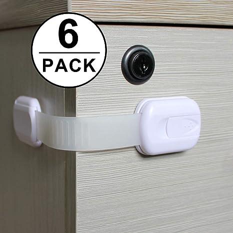 Shackcom 6pcs Cerraduras de Seguridad para Niños-Protección ...