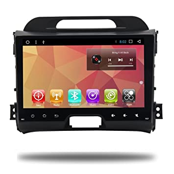Android 7.1 Car 2 DIN Radio GPS Navi for KIA Sportage 2014 2011 2012 2013 2015