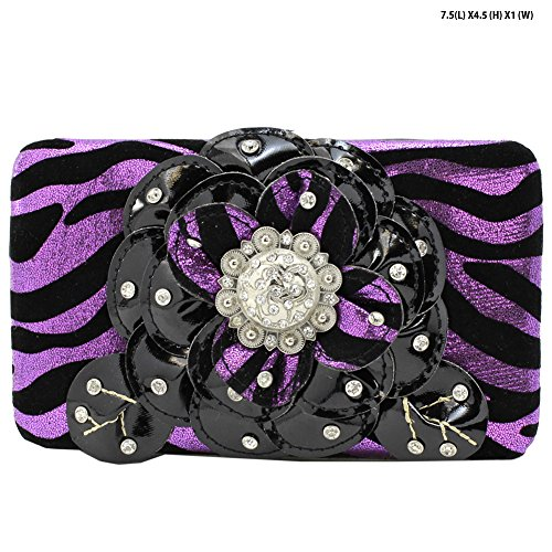 Decorated Frame Wallet - 4