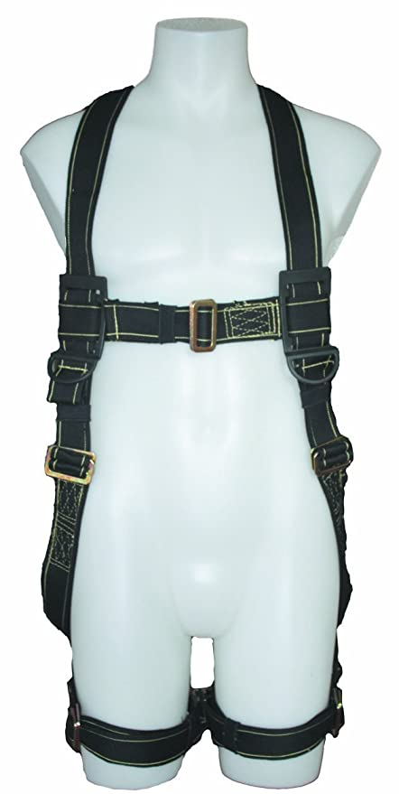 61vzDS 6p7L._SY879_ fall safe fs77325 fr m x treme specialty fire rated harness, medium