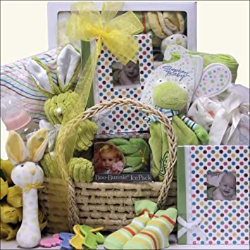 Baby shower surprise neutral baby gift basket amazon baby shower surprise neutral baby gift basket negle Gallery
