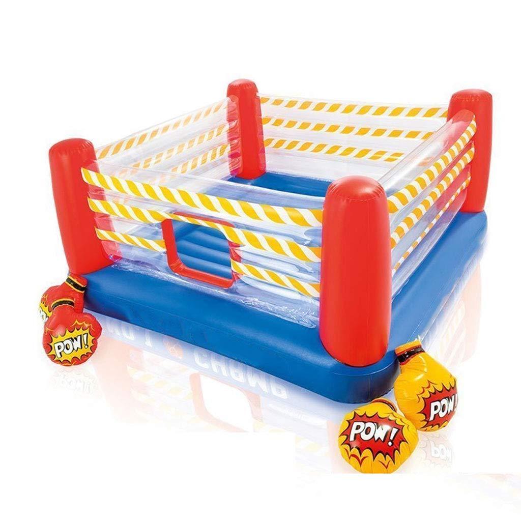GUO XINFEN Boxer Springendes aufblasbares Schloss-Ozean-Ball-Pool-aufblasbare Spielwaren der Trampoline-Kinder