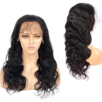 Body Wave Full Lace Human Hair Wigs For Black