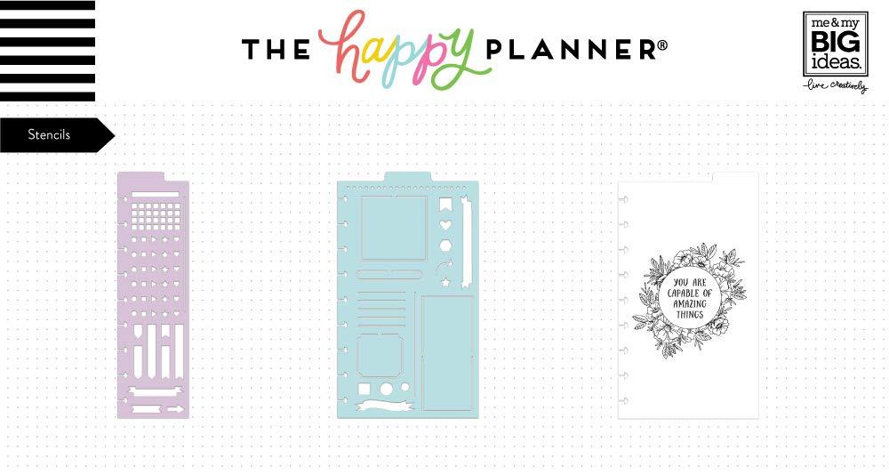 The Happy Planner Tagebuchschablone
