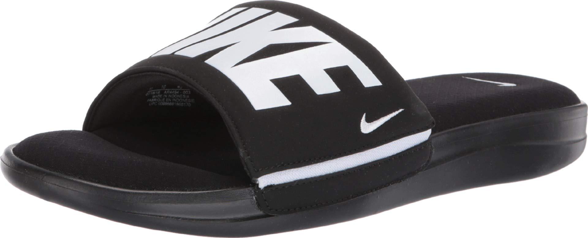 Nike Men's Ultra Comfort 3 Slide Sandal Black/White Size 11 M US by Nike