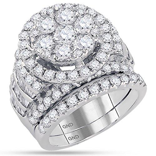 5 carat diamond ring - 6