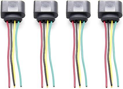4pcs Kit de reparación de conector de arnés de enchufe de bobina ...