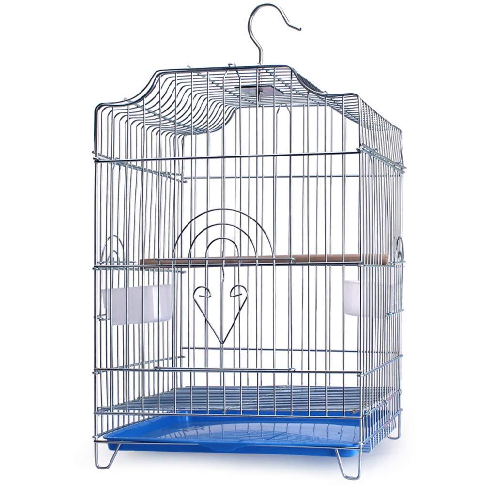 LIPETLI Revestimiento de Metal Jaula de Pájaros Bold Birdhouse ...