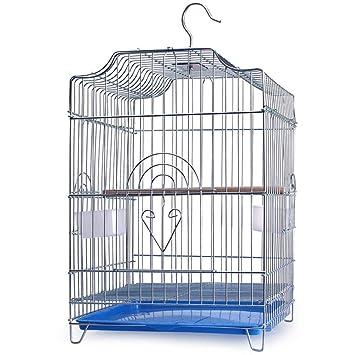 ZZQ Jaula de pájaros Mango portátil línea pequeño Nido de pájaro ...