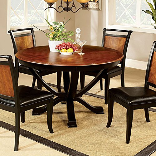 Cheap Furniture of America CM3034RT Salida I Round Pedestal Dining Tables