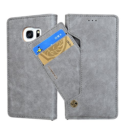 Businda Galaxy S8+ Wallet Case, Luxury Stylish Phone Case with Standing Feature & Card Slots PU Leather Dual Layer Design Cover for Samsung S8 Plus by Businda