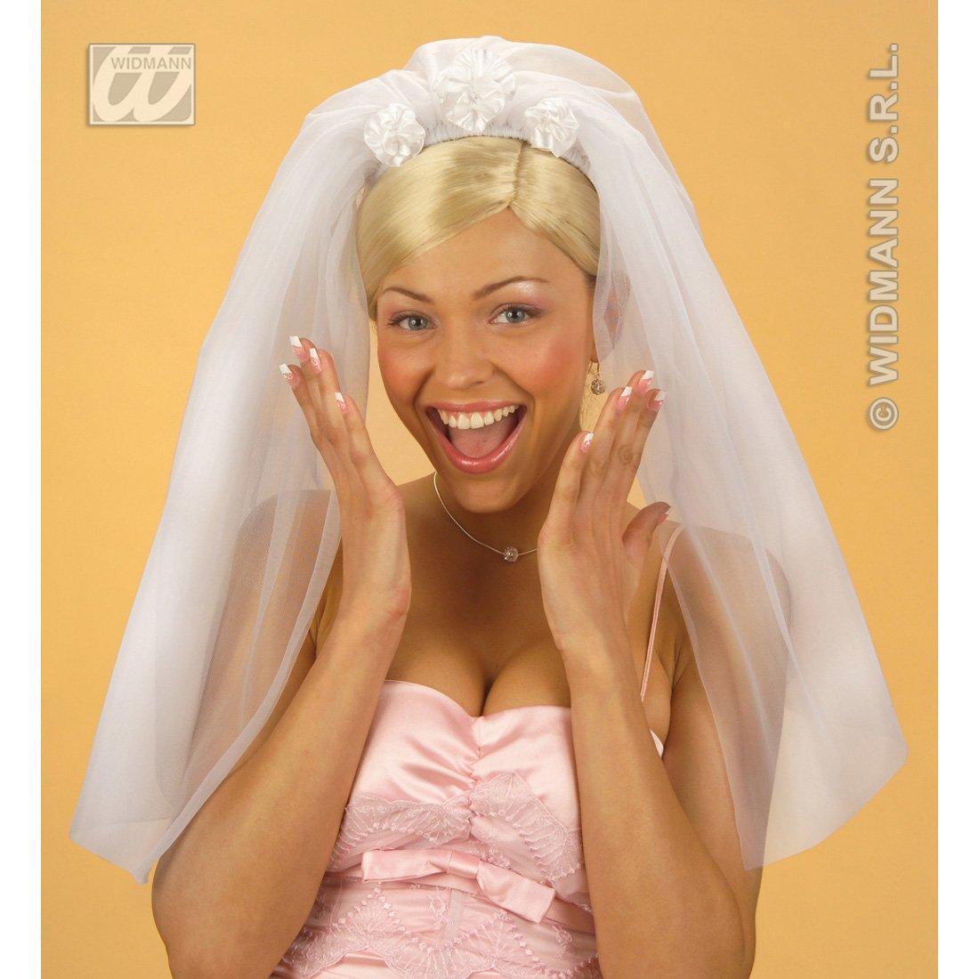 Brautschleier weiß Hochzeitsschleier Braut Schleier Fasching ...