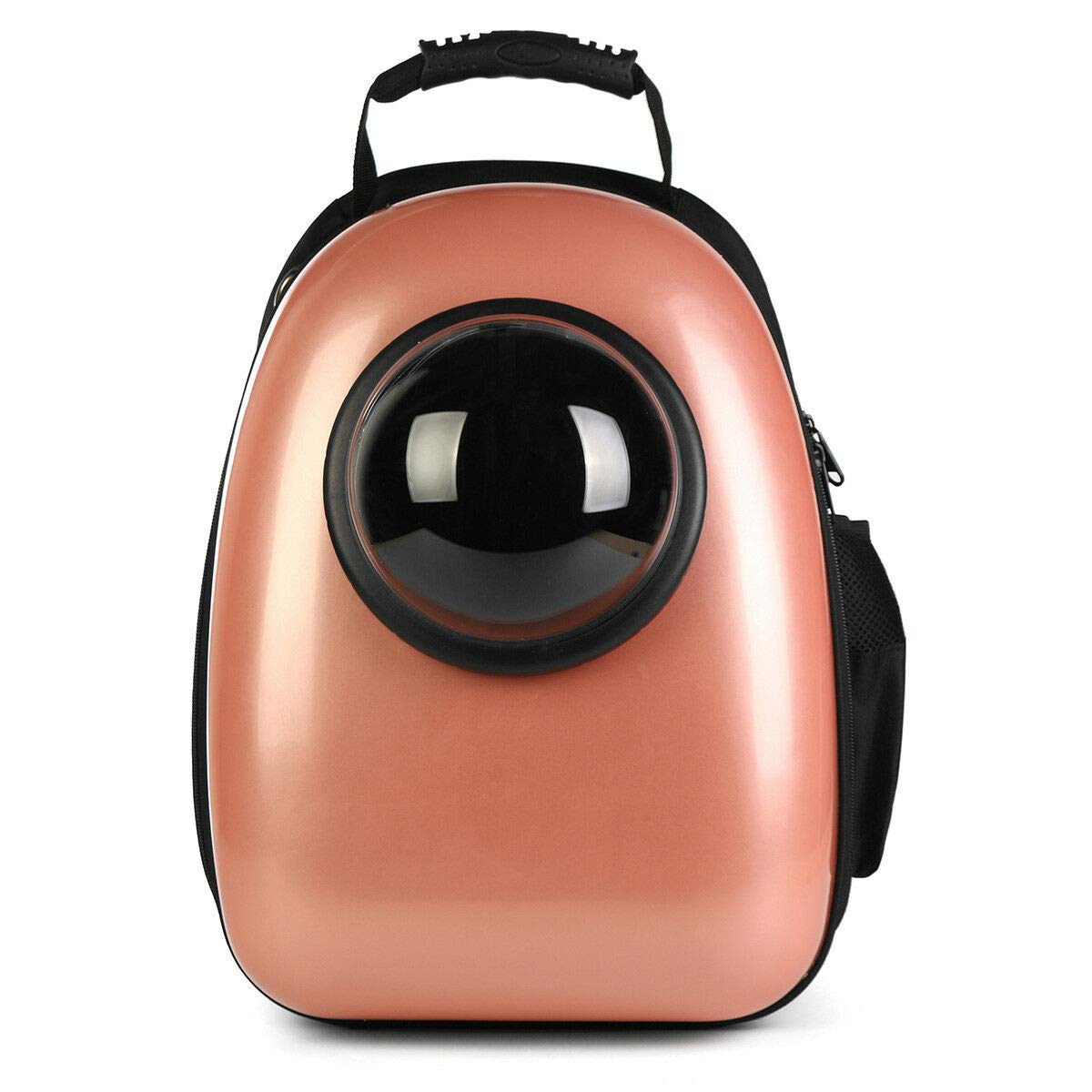 pink gold FidgetKute Breathable Capsule Pet Cat&Dog Puppy Travel Astronaut Space Backpack Carrier Bag pink gold