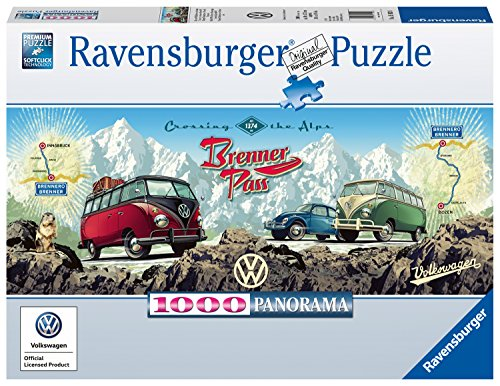 (Ravensburger 15102 Cross The Alps with VW Panoramic Jigsaw Puzzle)