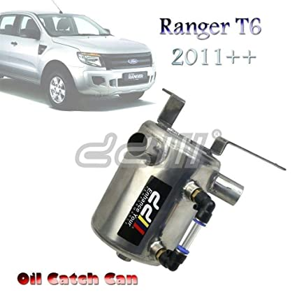 Stainless Steel Oil Catch Can For Ranger T60 PX XL 11++ 3.2L Diesel