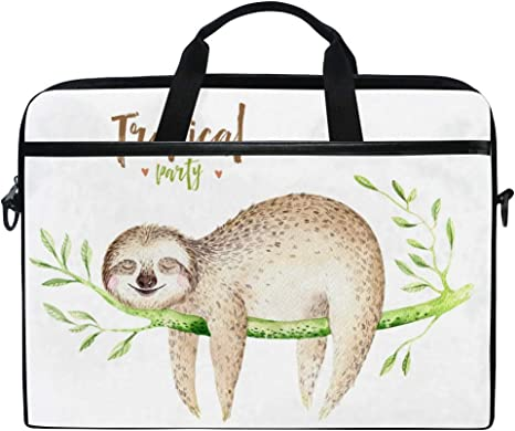 Animal Meerkats Cross Body Shoulder Messenger Laptop Bag