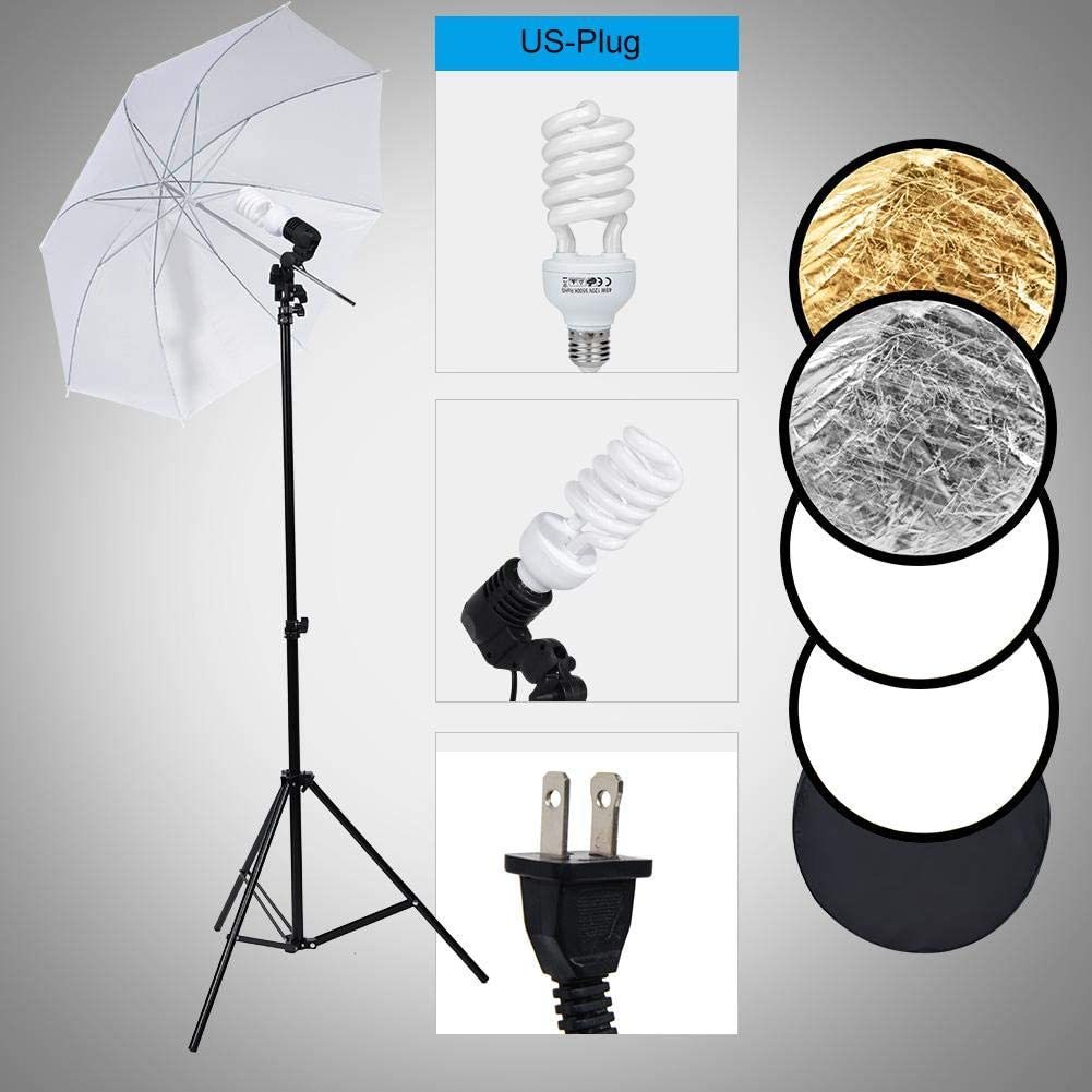 Simlug Backdrop Kit,Photography Background Professional Lighting Kit for Photography Background Support System