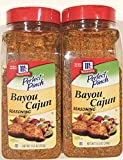 McCormick Perfect Pinch Bayou Cajun Seasoning, 13.5 ounce (Pack of 2)