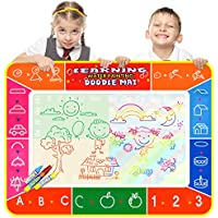 Security Colorful 40 x 28 Inch Magic Water Drawing Mat Pad