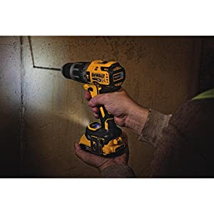 DEWALT 20V MAX XR Hammer Drill Kit, Tool Connect Bluetooth  (DCD797D2)