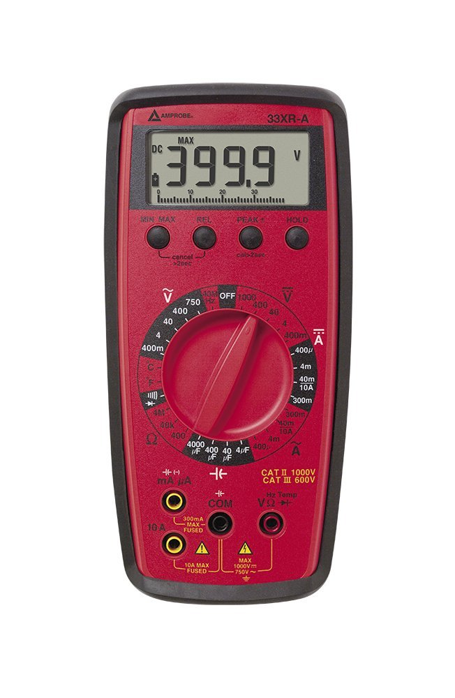 Amprobe 33XR-A Digital Multimeter with Temperature