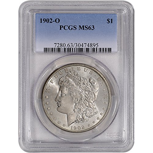 1902 O US Morgan Silver Dollar $1 MS63 PCGS