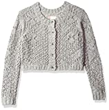 Roxy Big Girls' High Friendship Sweater, Heritage Heather, 10/M