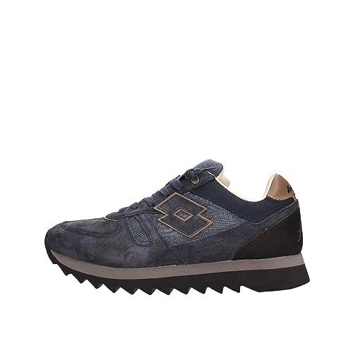 Lotto T0823 Sneaker Uomo Blu 44  Amazon.it  Scarpe e borse 7717721f01b