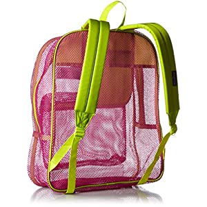 JanSport Mesh Pack- Discontinued Colors (Cyber Pink)