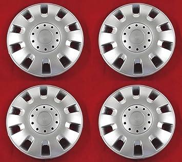 4 unidades Tapacubos – Tapacubos Tapacubos Classic pulgadas 15 óptica de aluminio Llantas de Acero