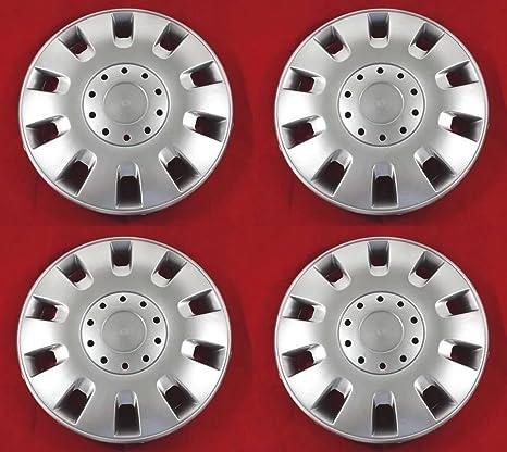 4 unidades Tapacubos – Tapacubos Tapacubos Classic pulgadas 13 óptica de aluminio Llantas de Acero