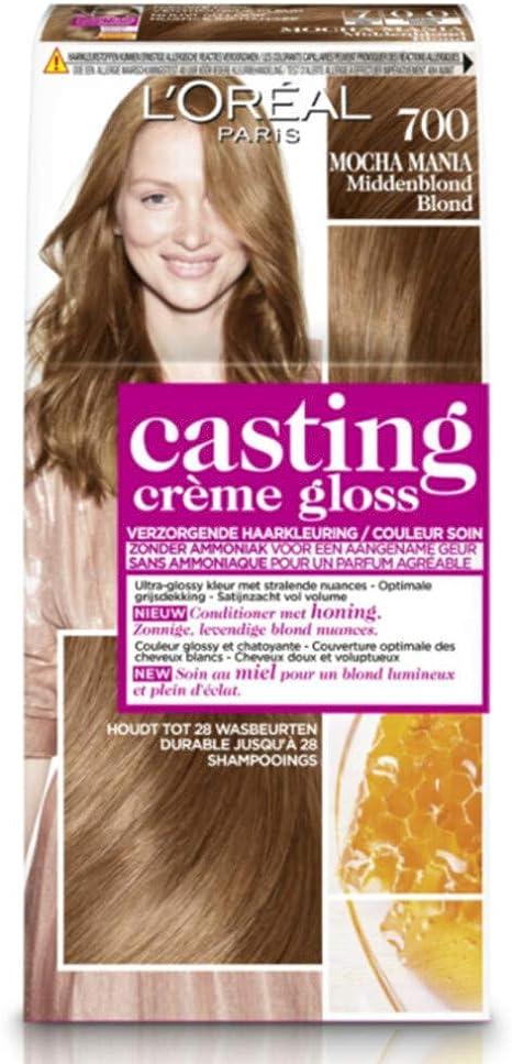 L Oréal Paris Casting Crème Gloss 700 Mocha Mania miel ...