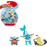 NEW Pokemon Battle Figure Set Vaporeon,Mimikyu