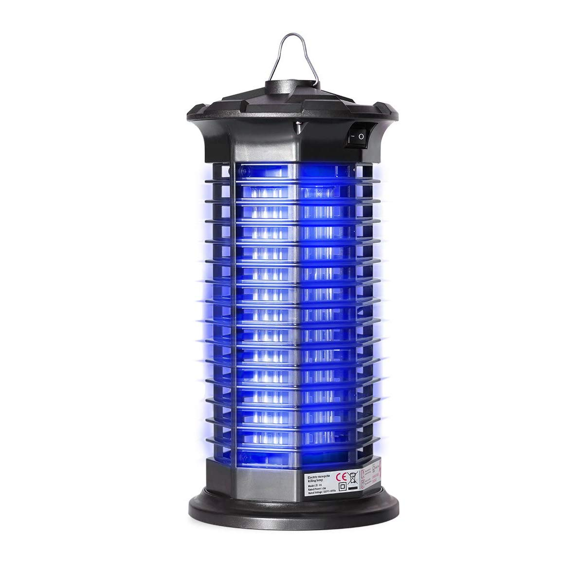 Garsum Bug Zapper | Electric Mosquito Killer | Indoor Insect Trap | Child & Pet Safe, Non-Toxic |Fly Zapper Repellent for Home, Indoor, Kitchen by Garsum