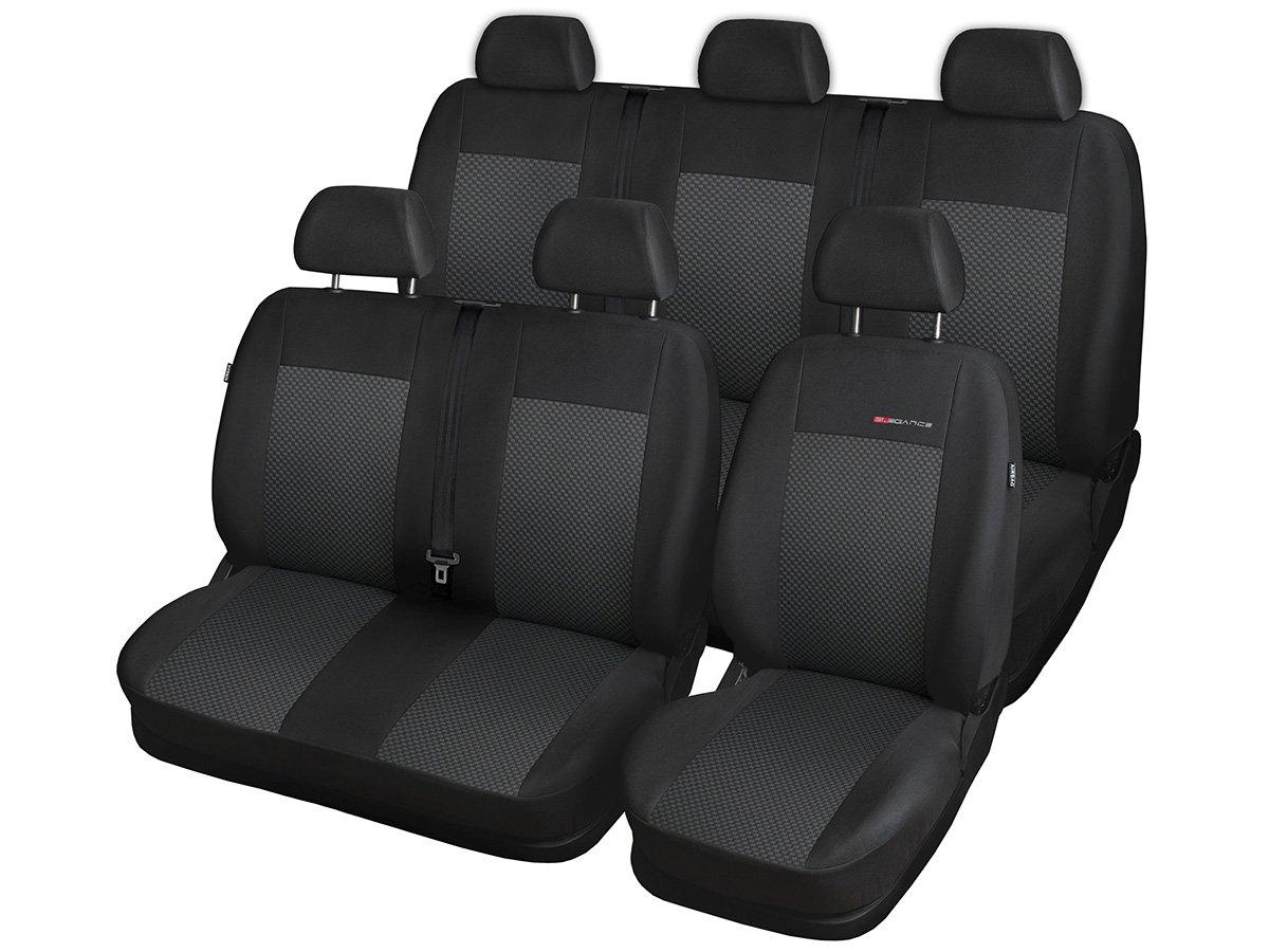 T5 2+1,1+2,3 P-1 Strickpolster /®Auto-schmuck T5 Sitzbez/üge nach Ma/ß Autoplanen perfekte Passform Schonbez/üge Sitzschoner Velour