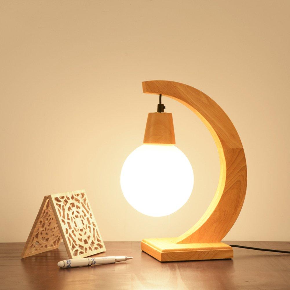 Dekoration Massivholztisch lampe,Modern Einfache Tischleuchten für schlafzimmer Kreative Wärme Nachttisch-lampe Nachttisch-lampe Nachttisch-lampe Bett nachttisch-lampe-A B078Z9L1BJ   Praktisch Und Wirtschaftlich  a281d2