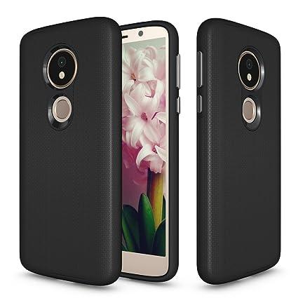 new product 53b66 39dd1 Amazon.com: Moto G6 Play Case,Valenth [Card Slot] Shockproof ...