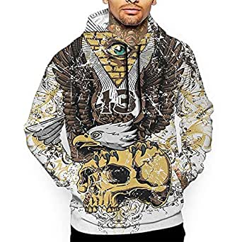 Amazon.com: Hoodies Sweatshirt Autumn Winter Tattoo